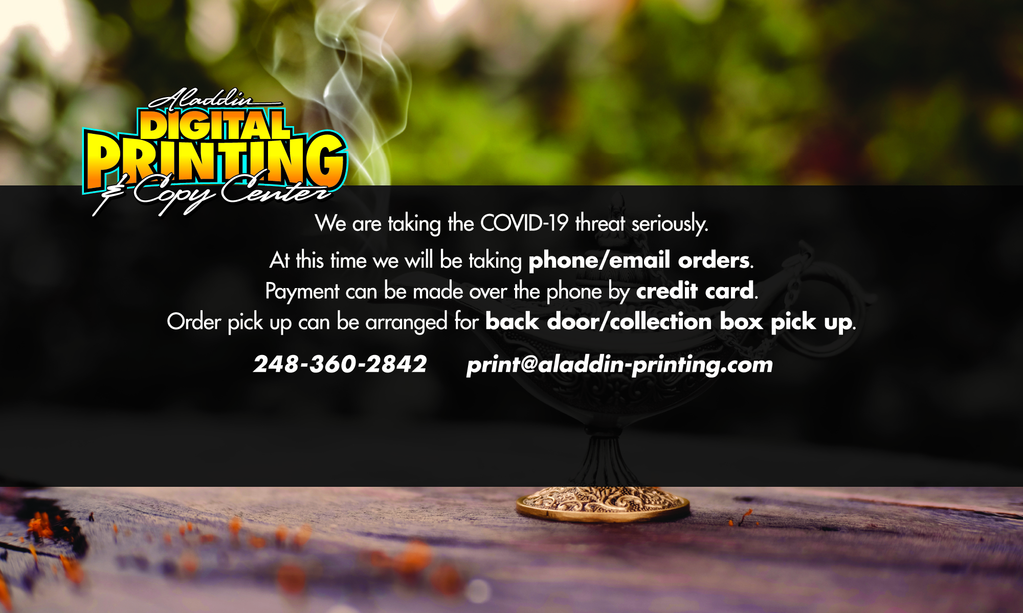 Digital Printing & Copy Center
